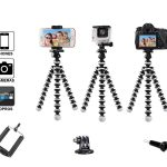 Octopus Flexible Gorilla Tripod For DSLR Camera, Smartphone, iPhone-0