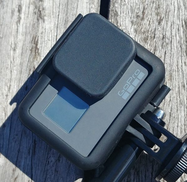 GoPro HERO 5, 6, 7 Silicon Protective Lens Cap Cover + Tether-2509