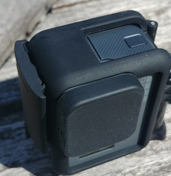 GoPro HERO 5, 6, 7 Silicon Protective Lens Cap Cover + Tether-2510