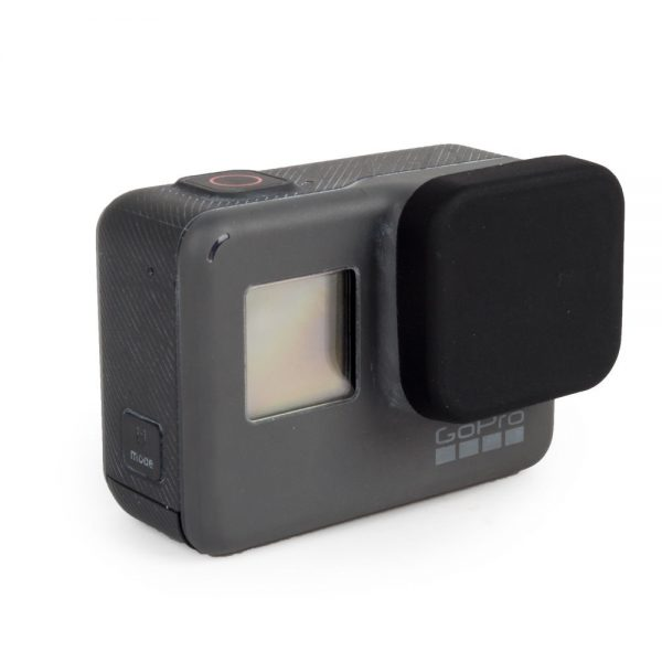 GoPro HERO 5, 6, 7 Silicon Protective Lens Cap Cover + Tether-2437