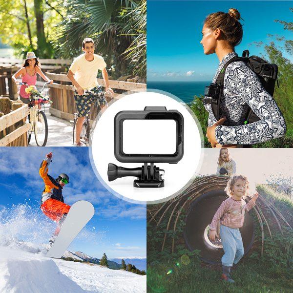 micros2u Standard Frame for Gopro Hero 8 Action Camera